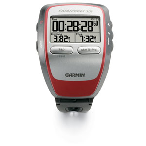 The Garmin Forerunner 305 was the upgrade! Smaller (yet still large), faster, rock solid GPS performance... I loved this watch!