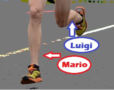 I've become a bit too familiar with my calf muscles this past year... to the point where I've given them names!