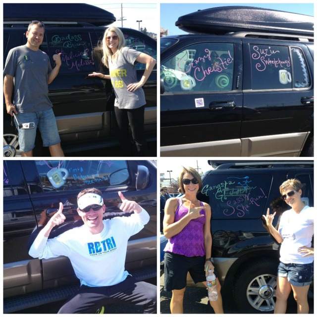 We even started off with temporary nicknames (as we all know your real nickname is earned on the road). Clockwise from upper left: Badass Brian & Malicious Melissa, Crazy Christie & Suzie Sweetcheeks, Gangsta G & Sassy Sha-Run, and the Beautiful Mermaid