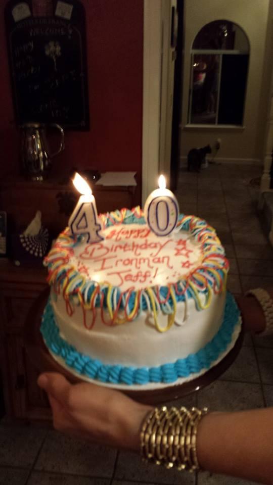The cake. 100% tasty ice cream goodness! Black Cherry on top... Graham Cracker on bottom.