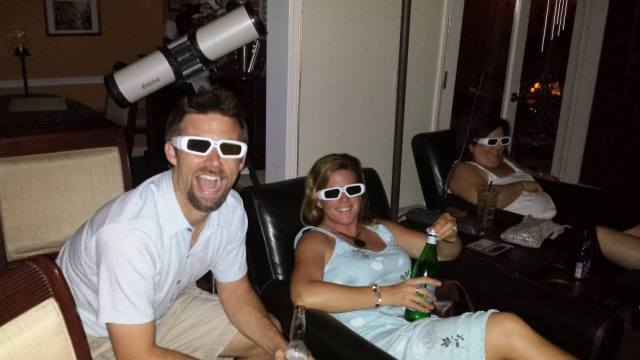 A little Top Gun viewing session in 3D